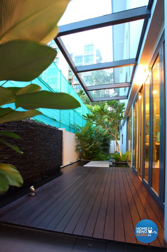 Contemporary, Modern Design - Balcony - Landed House - Design by form & space pte ltd