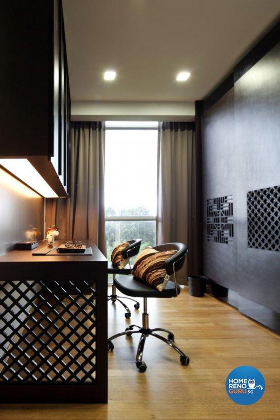 Contemporary, Modern Design - Study Room - Condominium - Design by Fuse Concept Pte Ltd