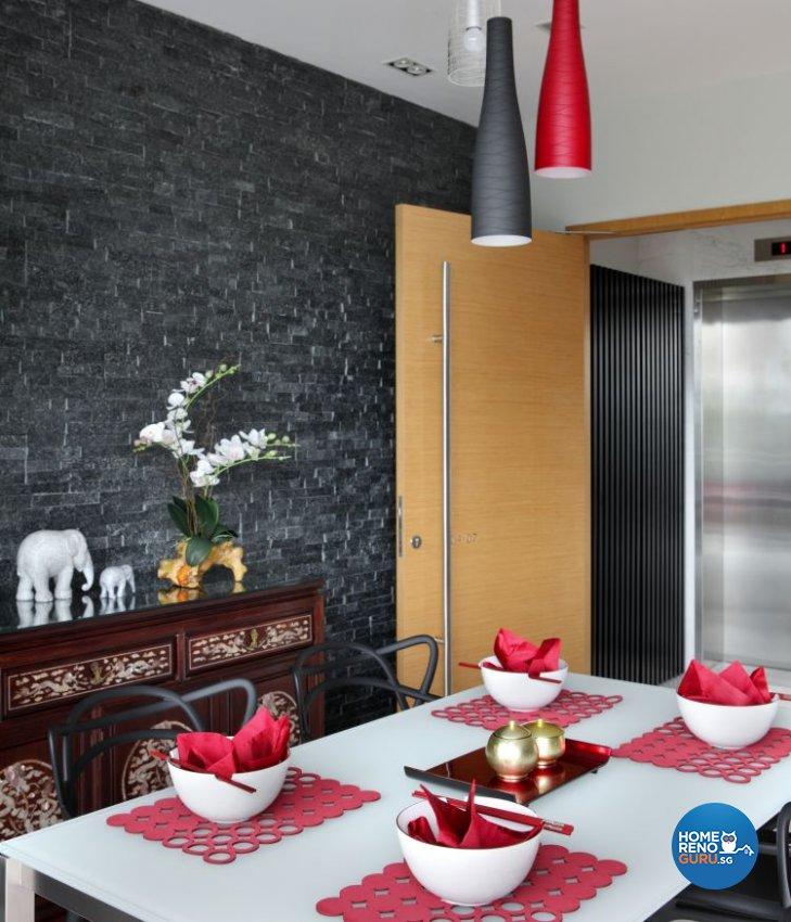 Contemporary, Modern Design - Dining Room - Condominium - Design by Fuse Concept Pte Ltd