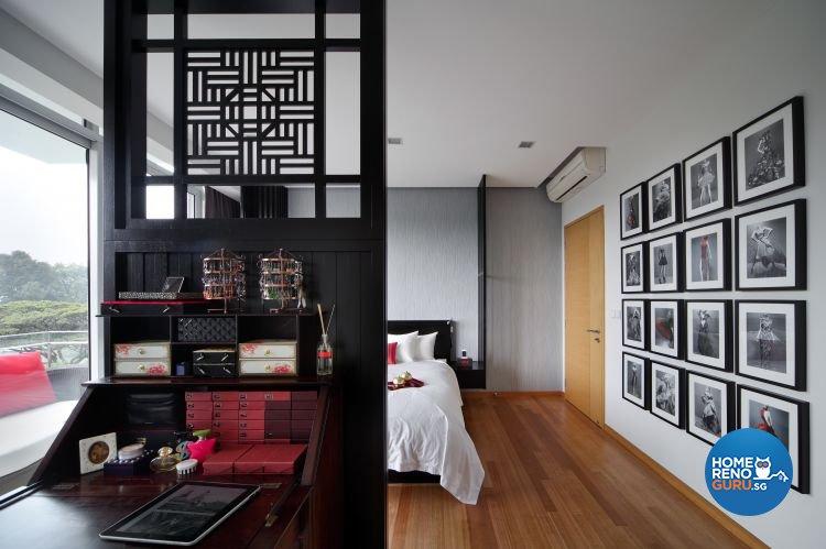 Contemporary, Modern Design - Bedroom - Condominium - Design by Fuse Concept Pte Ltd