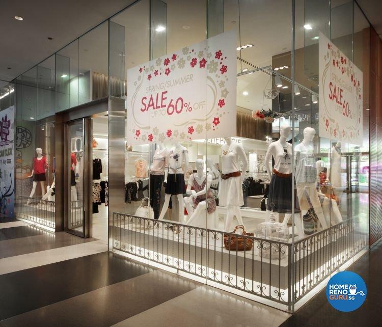 Contemporary, Modern Design - Commercial - Retail - Design by Fuse Concept Pte Ltd