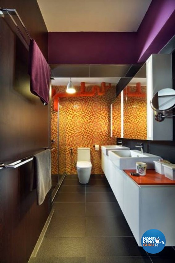 Contemporary, Modern Design - Bathroom - HDB 5 Room - Design by Fuse Concept Pte Ltd