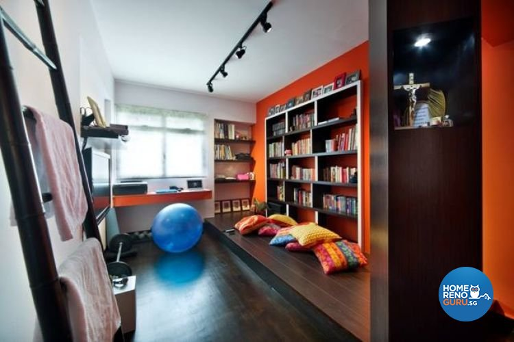 Contemporary, Modern Design - Study Room - HDB 5 Room - Design by Fuse Concept Pte Ltd