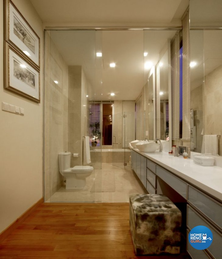 Contemporary, Modern Design - Bathroom - Landed House - Design by Fuse Concept Pte Ltd