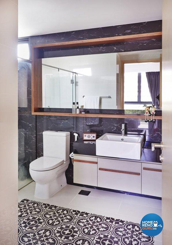 Contemporary, Scandinavian Design - Bathroom - Condominium - Design by Fuse Concept Pte Ltd