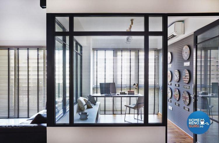 Contemporary, Scandinavian Design - Study Room - Condominium - Design by Fuse Concept Pte Ltd