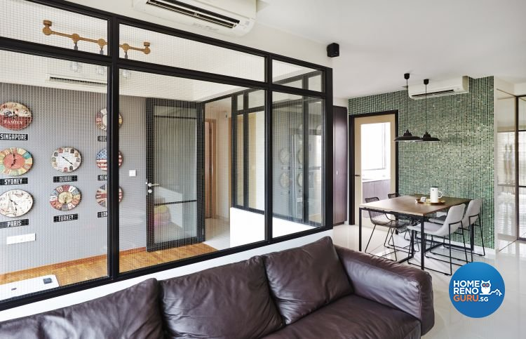 Contemporary, Scandinavian Design - Living Room - Condominium - Design by Fuse Concept Pte Ltd