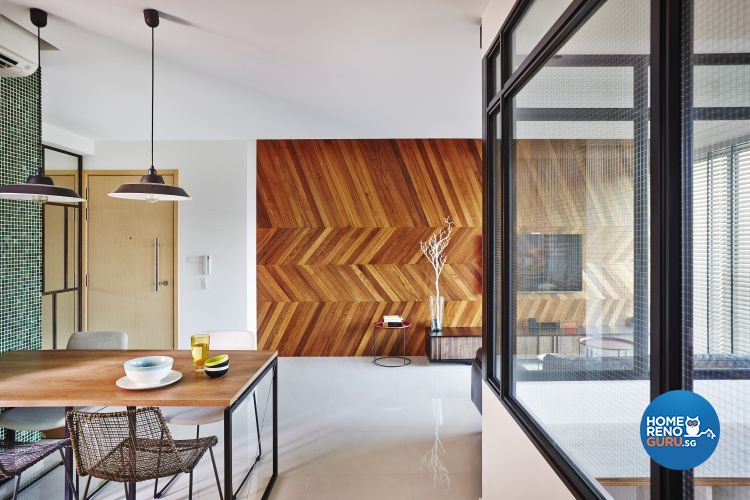 Contemporary, Scandinavian Design - Dining Room - Condominium - Design by Fuse Concept Pte Ltd