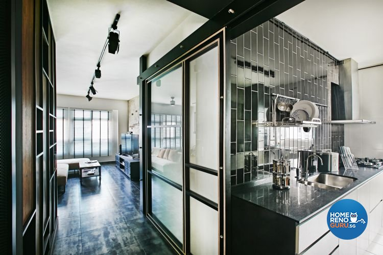 Contemporary, Modern Design - Kitchen - HDB 5 Room - Design by Fuse Concept Pte Ltd