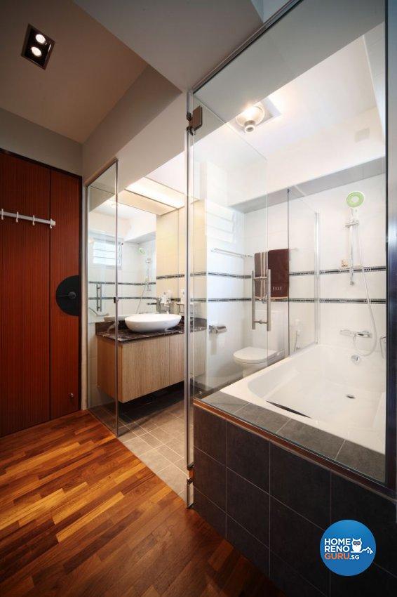 Modern, Scandinavian Design - Bathroom - HDB 4 Room - Design by Fuse Concept Pte Ltd