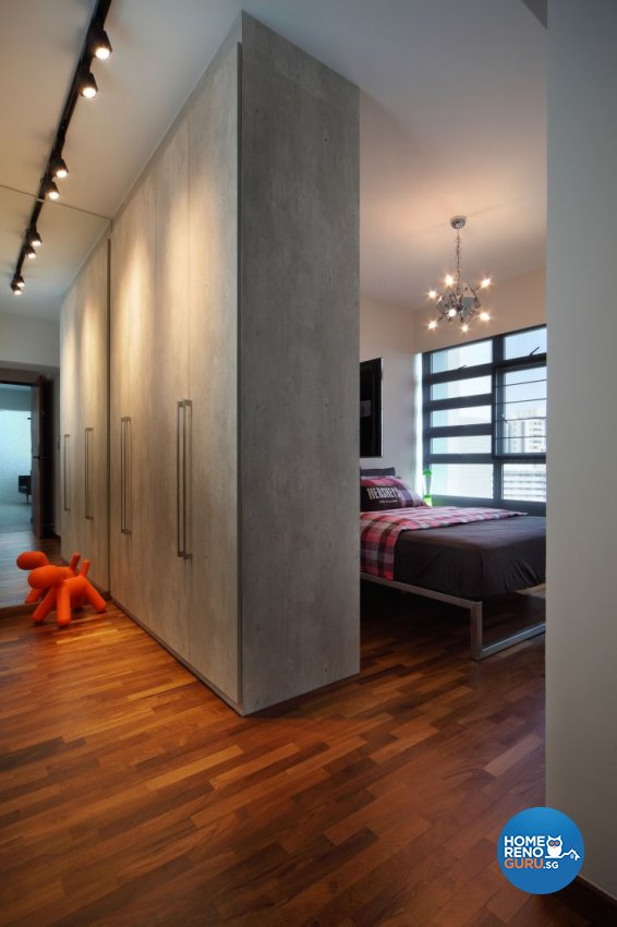Modern, Scandinavian Design - Bedroom - HDB 4 Room - Design by Fuse Concept Pte Ltd