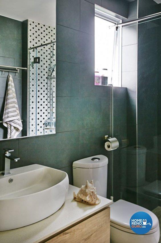 Eclectic, Modern Design - Bathroom - Condominium - Design by Fuse Concept Pte Ltd