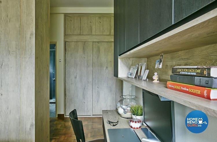 Eclectic, Modern Design - Bedroom - Condominium - Design by Fuse Concept Pte Ltd