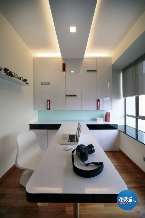 Modern, Scandinavian Design - Study Room - Landed House - Design by Fuse Concept Pte Ltd