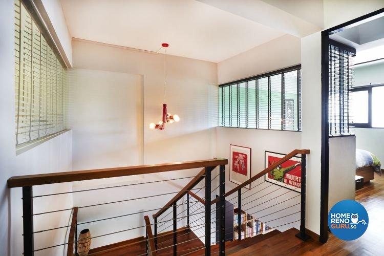 Eclectic, Modern Design - Bedroom - HDB Executive Apartment - Design by Fuse Concept Pte Ltd