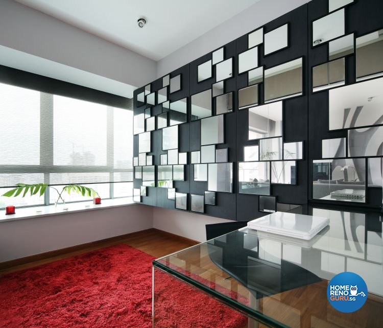 Contemporary, Modern Design - Study Room - Condominium - Design by Fuse Concept Pte Ltd