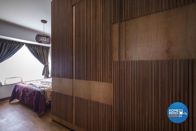 Modern, Scandinavian Design - Bedroom - HDB 5 Room - Design by Fuse Concept Pte Ltd