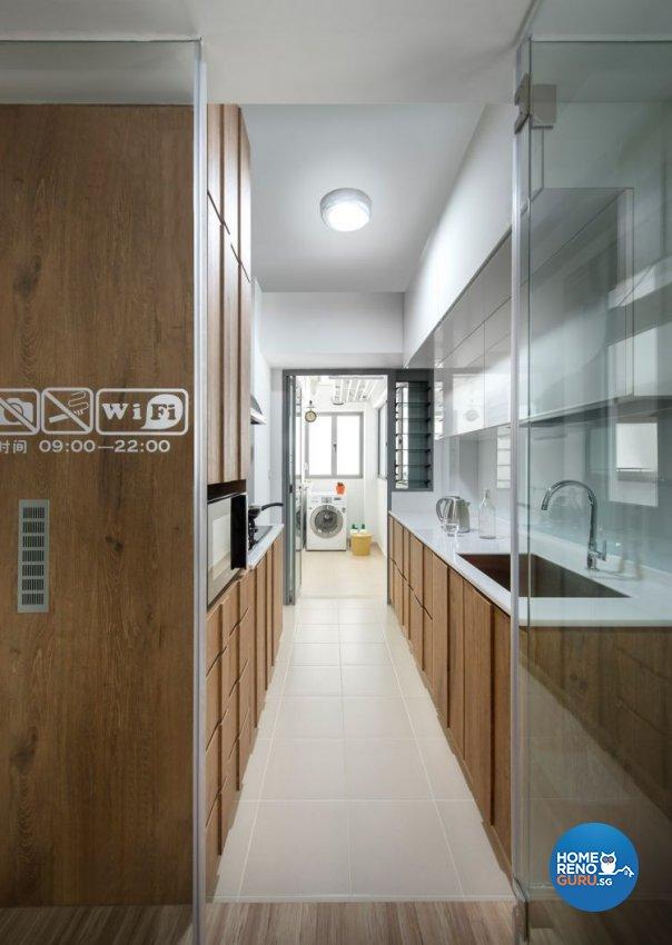 Modern, Scandinavian Design - Kitchen - HDB 5 Room - Design by Fuse Concept Pte Ltd