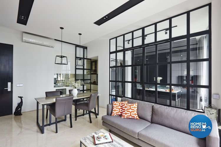 Contemporary, Modern Design - Dining Room - Condominium - Design by Fuse Concept Pte Ltd