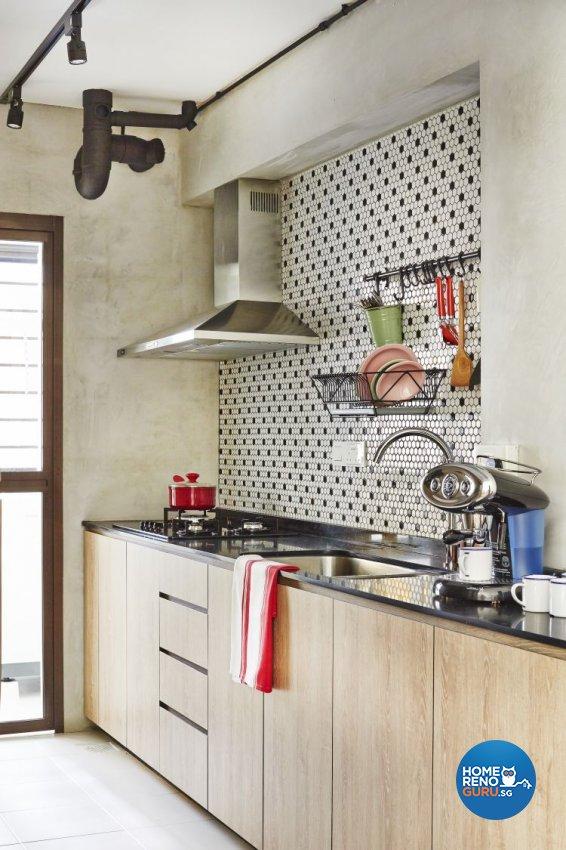 Modern, Scandinavian Design - Kitchen - HDB 4 Room - Design by Fuse Concept Pte Ltd