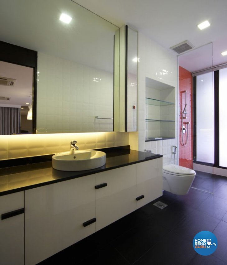 Contemporary, Modern Design - Bathroom - Landed House - Design by Fuse Concept Pte Ltd