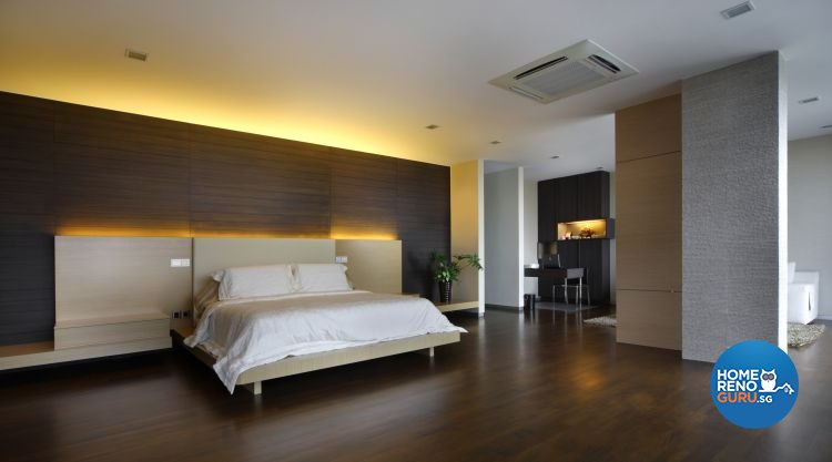 Contemporary, Modern Design - Bedroom - Landed House - Design by Fuse Concept Pte Ltd