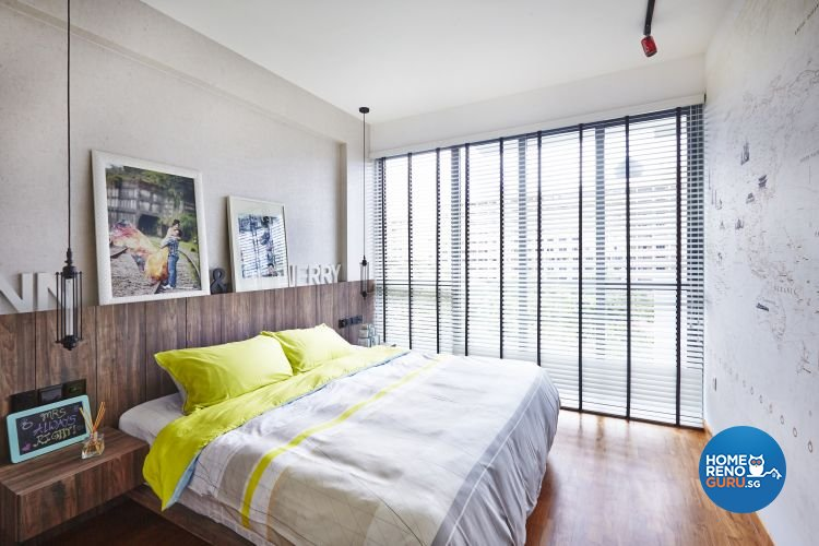 Modern, Scandinavian Design - Bedroom - Condominium - Design by Fuse Concept Pte Ltd