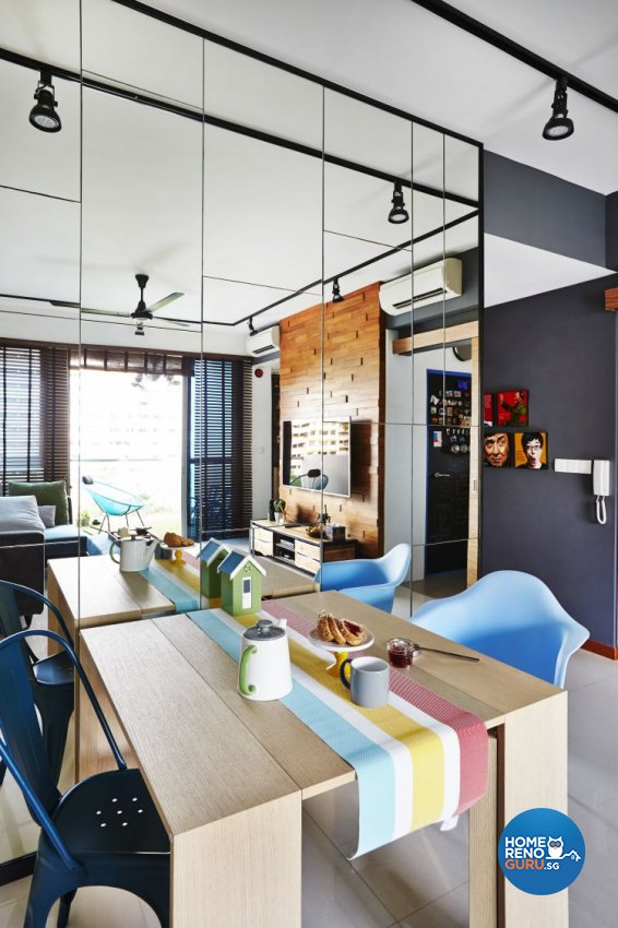Modern, Scandinavian Design - Dining Room - Condominium - Design by Fuse Concept Pte Ltd