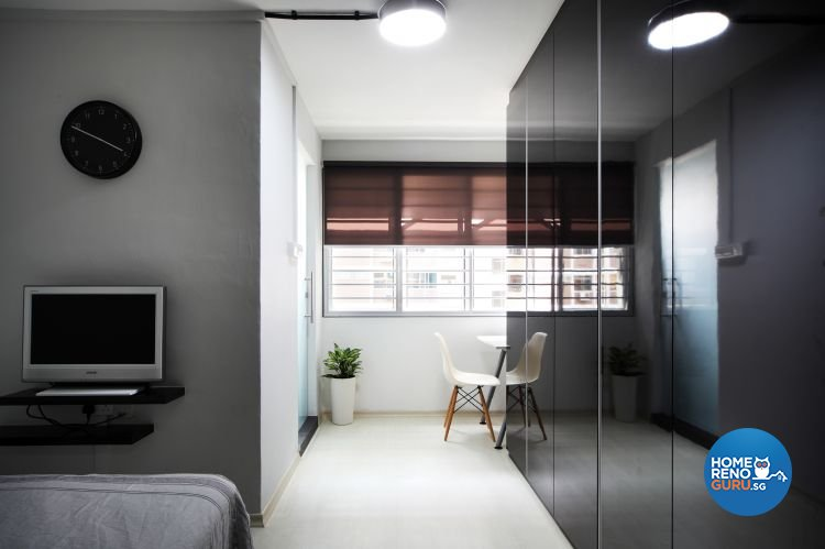 Contemporary, Eclectic Design - Bedroom - HDB 5 Room - Design by Fuse Concept Pte Ltd