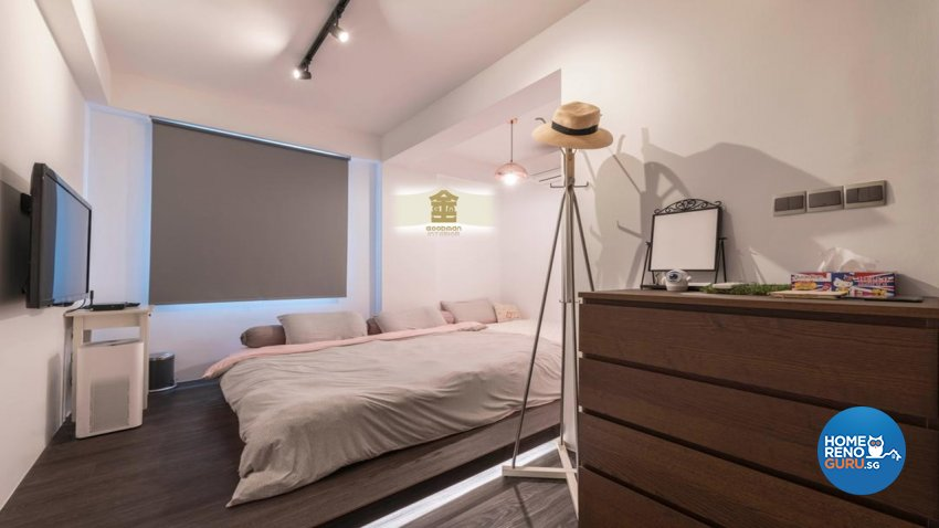 Vintage Design - Bedroom - Condominium - Design by Goodman Interior Pte Ltd