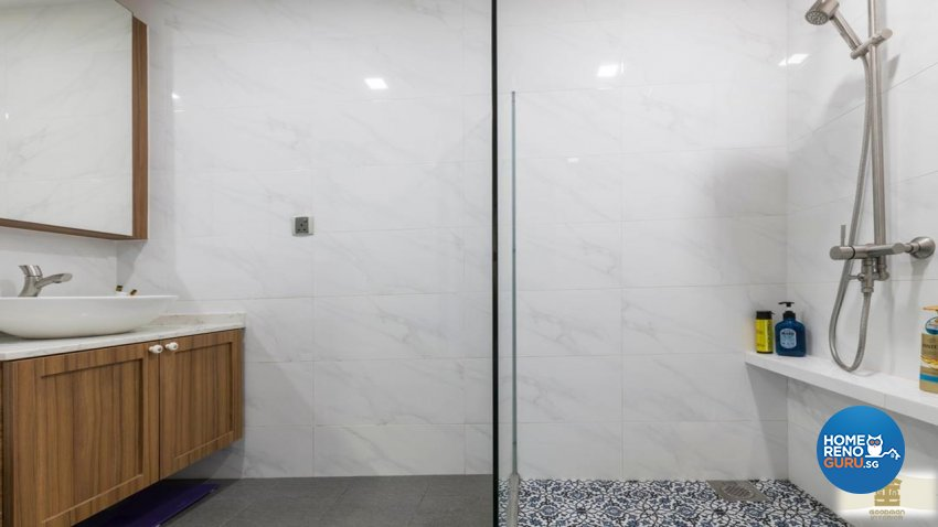 Vintage Design - Bathroom - Condominium - Design by Goodman Interior Pte Ltd
