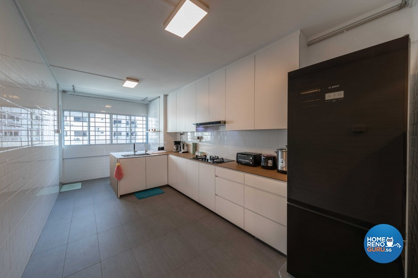 Modern Design - Kitchen - HDB 4 Room - Design by G'Plan Design Pte Ltd