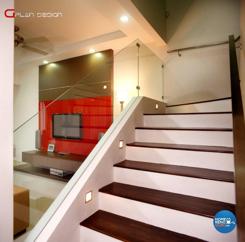 Modern Design - Living Room - Landed House - Design by G'Plan Design Pte Ltd