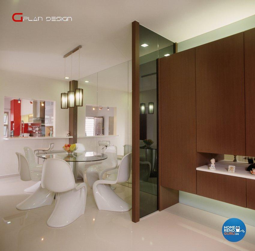 Modern Design - Dining Room - Landed House - Design by G'Plan Design Pte Ltd