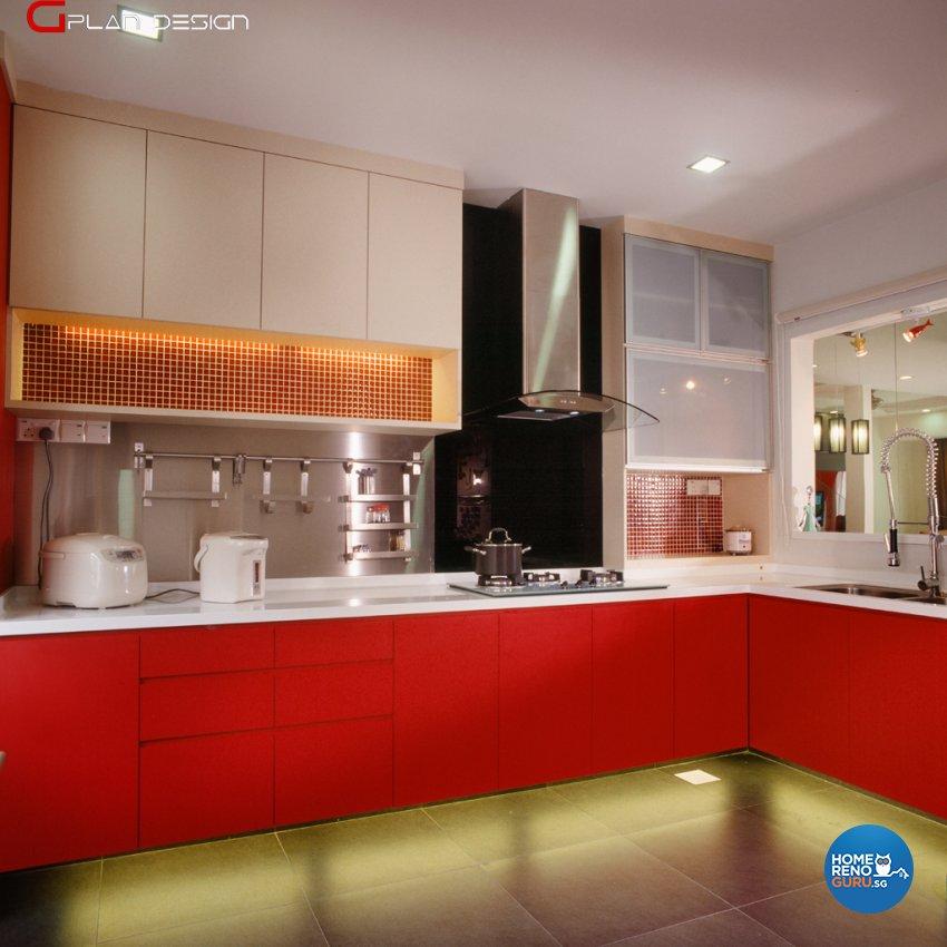 Modern Design - Kitchen - Landed House - Design by G'Plan Design Pte Ltd