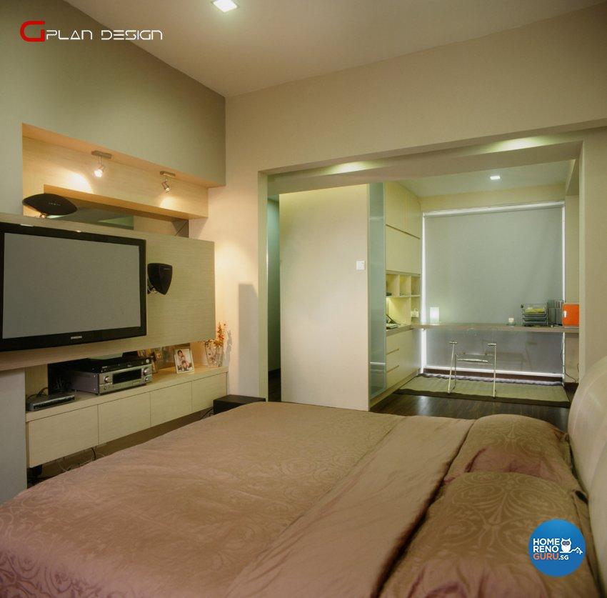 Modern Design - Bedroom - Landed House - Design by G'Plan Design Pte Ltd
