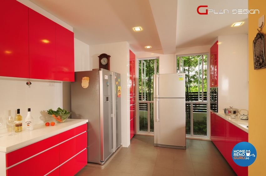 Contemporary Design - Kitchen - Landed House - Design by G'Plan Design Pte Ltd