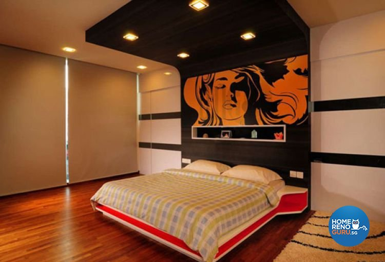 Contemporary Design - Bedroom - Landed House - Design by G'Plan Design Pte Ltd