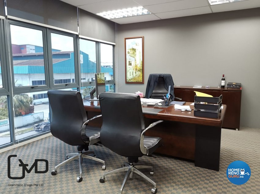 Contemporary Design - Commercial - Office - Design by GranVision D'sign Pte Ltd