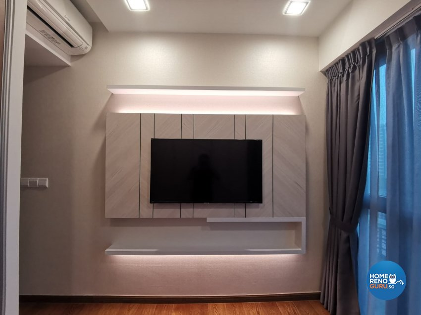 Contemporary, Modern Design - Bedroom - Condominium - Design by GranVision D'sign Pte Ltd