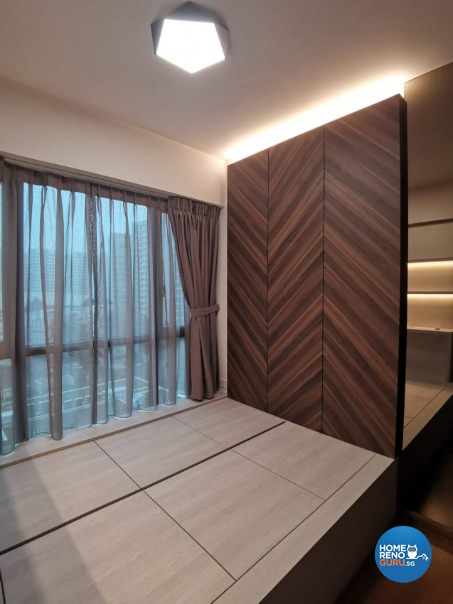 Contemporary, Modern Design - Bedroom - Condominium - Design by GranVision D'sign Pte Ltd