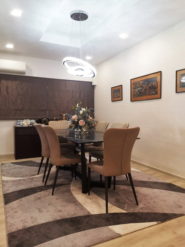 Classical, Modern Design - Dining Room - HDB Executive Apartment - Design by GranVision D'sign Pte Ltd