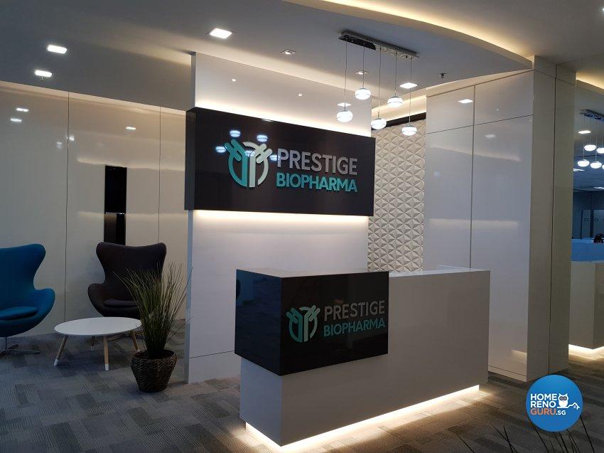 Minimalist, Modern Design - Commercial - Office - Design by GranVision D'sign Pte Ltd