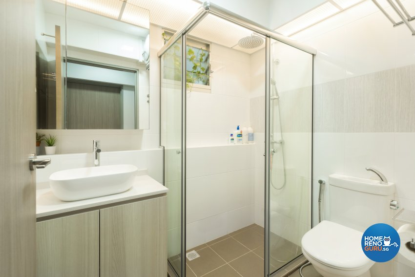 Modern Design - Bathroom - HDB 4 Room - Design by Great Oasis Interior Design