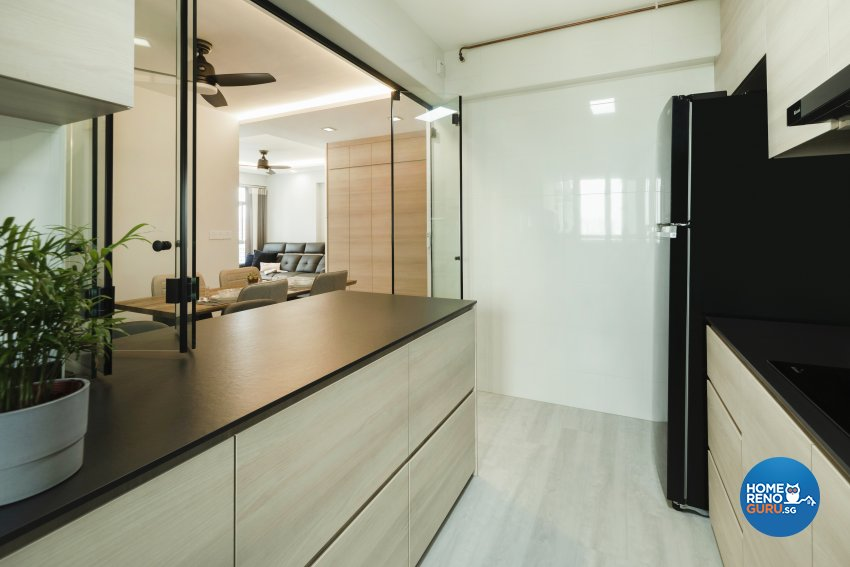 Modern Design - Kitchen - HDB 4 Room - Design by Great Oasis Interior Design