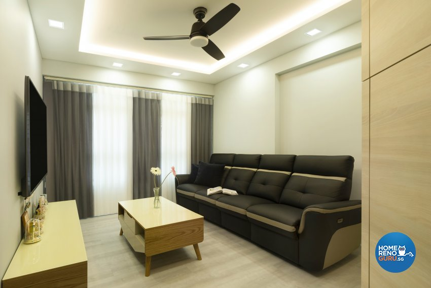 Modern Design - Living Room - HDB 4 Room - Design by Great Oasis Interior Design