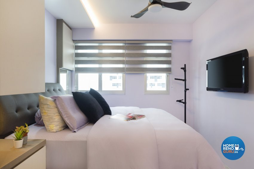 Modern Design - Bedroom - HDB 4 Room - Design by Great Oasis Interior Design