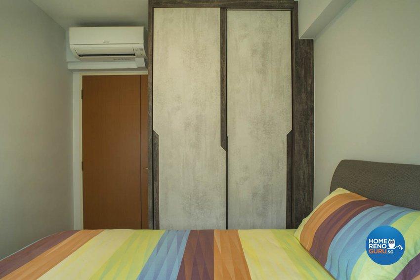 Contemporary Design - Bedroom - HDB 3 Room - Design by Great Oasis Interior Design