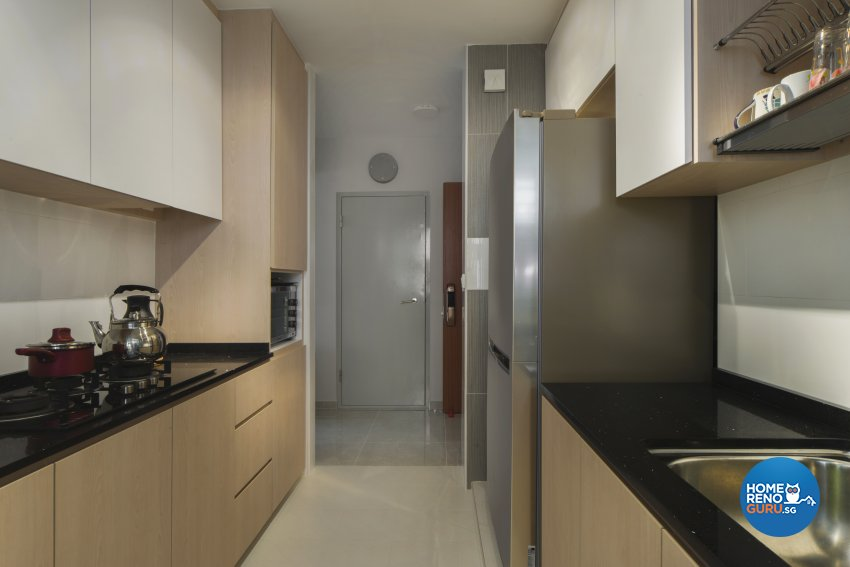 Contemporary Design - Kitchen - HDB 4 Room - Design by Great Oasis Interior Design