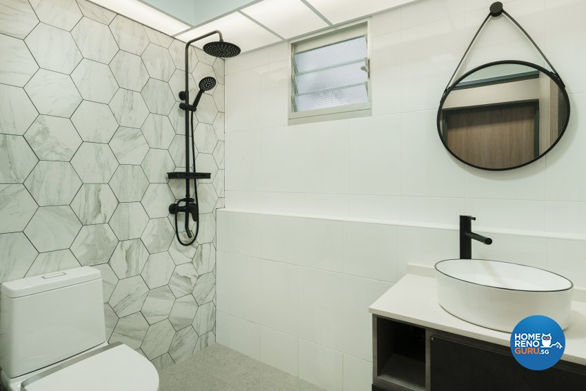 Contemporary, Modern Design - Bathroom - HDB 4 Room - Design by Great Oasis Interior Design